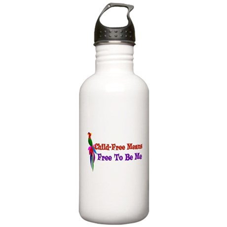 Child-Free To Be Me Stainless Water Bottle 1.0L