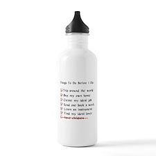 Child-Free Checklist Water Bottle