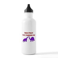 Overbreeding Dinosaurs Water Bottle