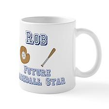 Rob - Future Baseball Star Mug