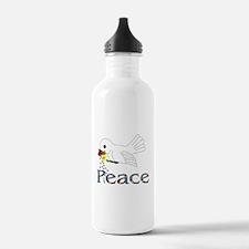 Peace Bird Water Bottle