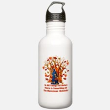 Autumn Pagan Goddess Water Bottle