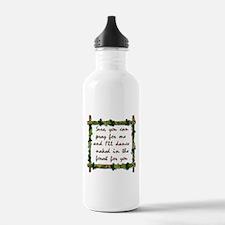 Naked Pagan Dance Water Bottle