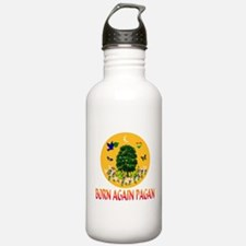 Born Again Pagan Water Bottle
