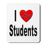I Love Students Mousepad