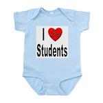 I Love Students Infant Creeper