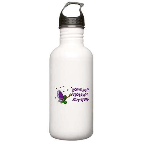 Domestic Violence Survivor Stainless Water Bottle