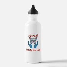 Domestic Violence Help Water Bottle