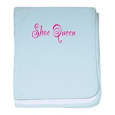 Shoe Queen baby blanket