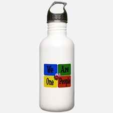 One World, One People Water Bottle