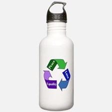 Peace Love Equality Water Bottle