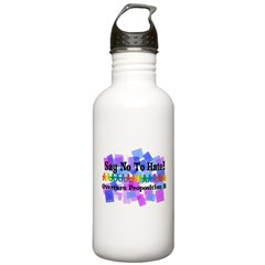 Say No To Hate Water Bottle