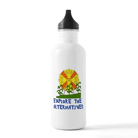 Alternative Energy Water Bottle by ursinelogic