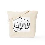 Left Fist Tote Bag