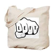 Left Fist Tote Bag