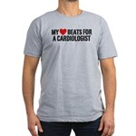 Cardiologist Men's Fitted T-Shirt (dark)