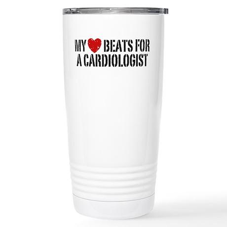Cardiologist Stainless Steel Travel Mug