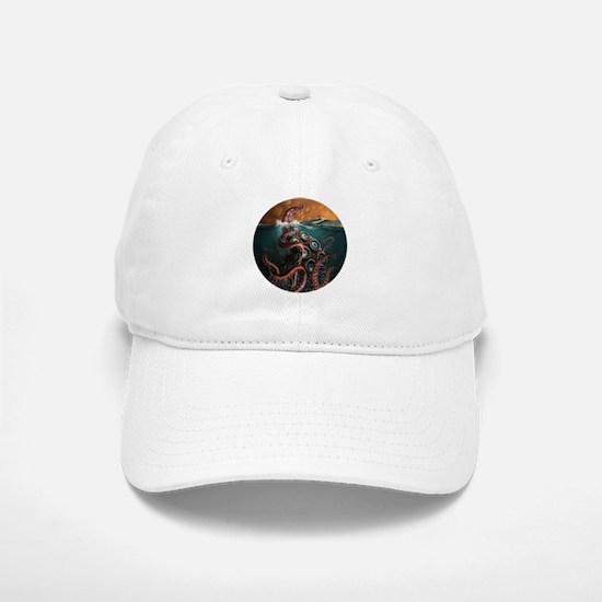 Kraken! Baseball Baseball Cap