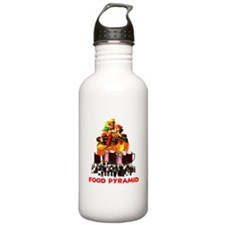 Food Pyramid Water Bottle