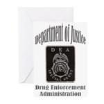 DEA Special Agent Greeting Cards (Pk of 20)