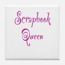 Scrapbook Queen Tile Coaster