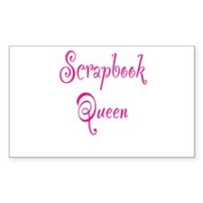 Scrapbook Queen Decal