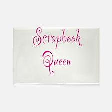 Scrapbook Queen Rectangle Magnet