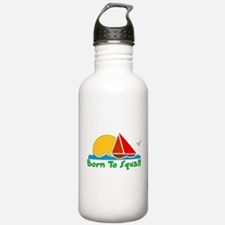 Born To Squall Water Bottle