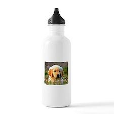 Austin, Retriever Puppy Water Bottle