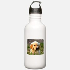 Austin, Retriever Puppy Water Bottle