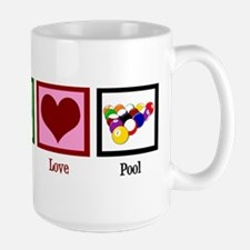 Peace Love Pool Mug