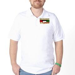 Desert Storm Veteran Golf Shirt