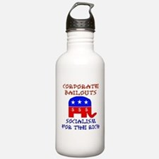 Corporate Bailouts Water Bottle