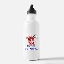 Torture Is Un-American Water Bottle