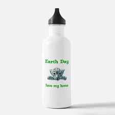 Earth Day Leopard Cub Water Bottle