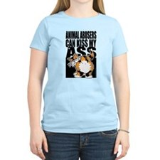 Animal Abusers Can Kiss My As T-Shirt