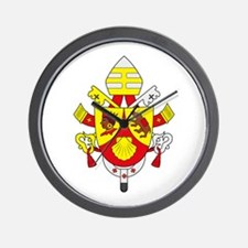 Pope Benedict XVI Wall Clock