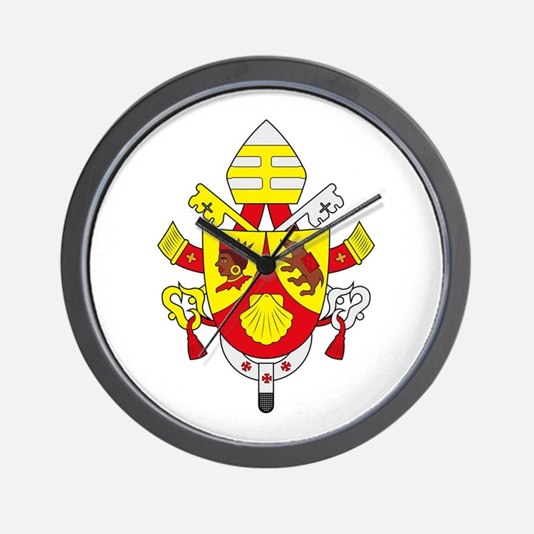 Pope Benedict XVI Wall Clock