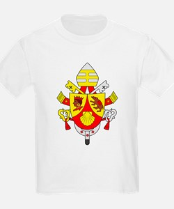 Pope Benedict XVI Kids T-Shirt
