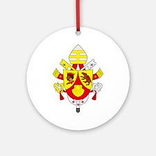 Pope Benedict XVI Ornament (Round)