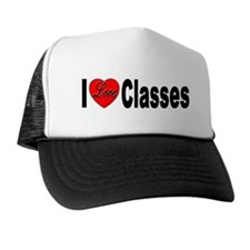 I Love Classes Trucker Hat