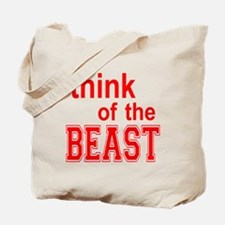 Think of the Beast Tote Bag