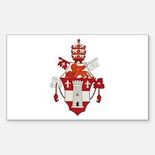 Pope John XXIII Rectangle Decal