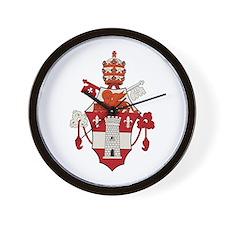 Pope John XXIII Wall Clock