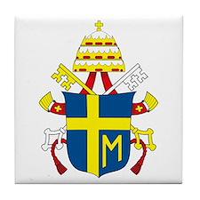 Pope John Paul II Tile Coaster