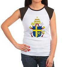 Pope John Paul II Women's Cap Sleeve T-Shirt