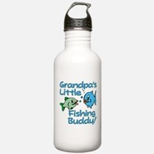 GRANDPA'S LITTLE FISHING BUDDY! Water Bottle