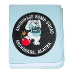 Anchorage Bomb Squad baby blanket