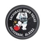 Anchorage Bomb Squad Wall Clock