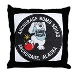 Anchorage Bomb Squad Throw Pillow